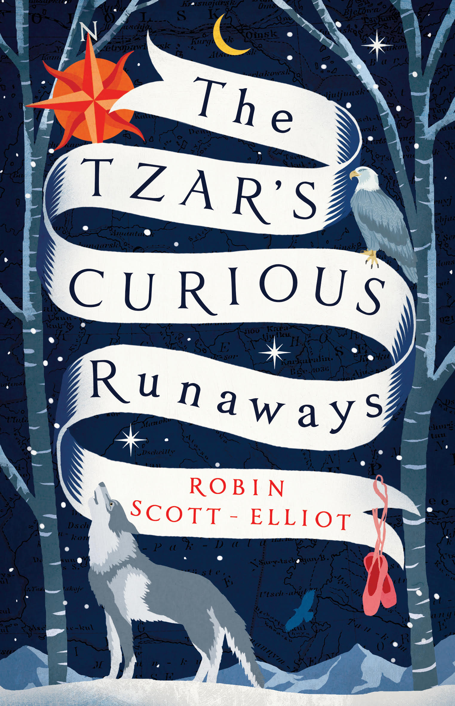 The Tzar's curious runaways book cover by Robin Scott-Eliot