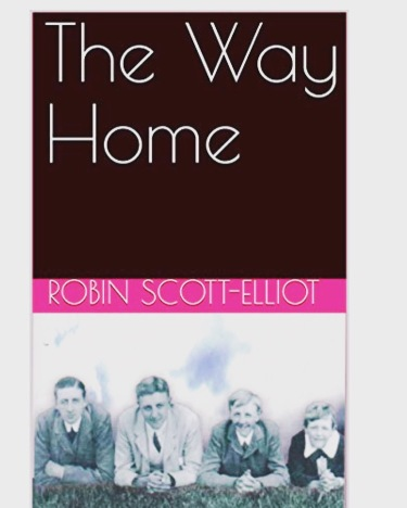The Way Home book Front Cover Robin Scott Eliot
